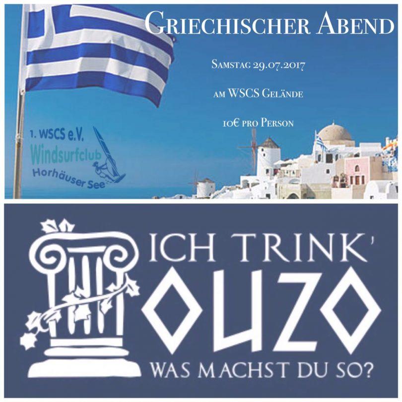 griechischer abend 2017 windsurfclub schweinfurt